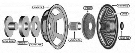 onderdelen-luidspreker
