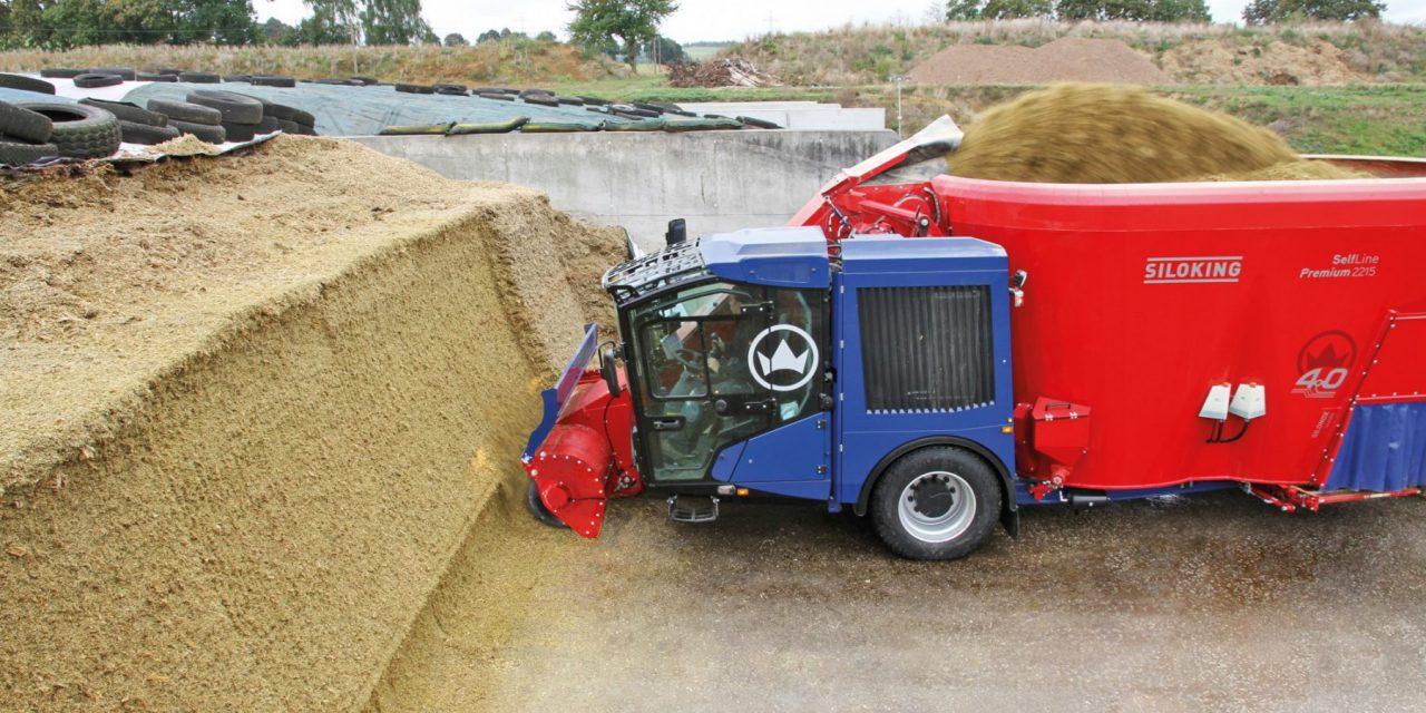 De voordelen van een voermengwagen in een notendop